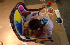 Rengarenk boyalar, sonsuz hayaller!